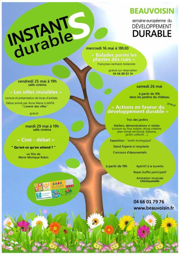 semaine européenne du développement durable à Beauvoisin