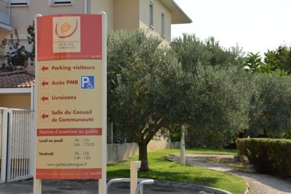panneau services administratifs