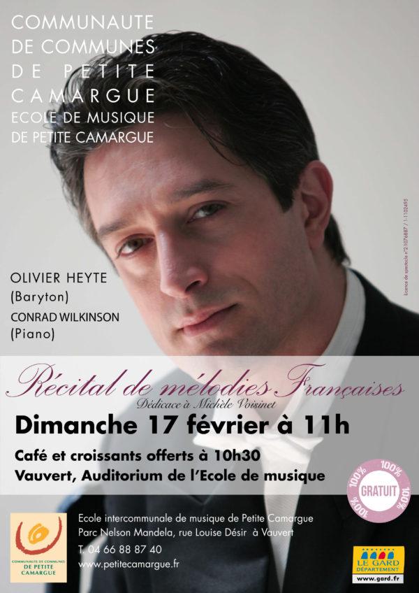 récital de mélodies francaises vauvert